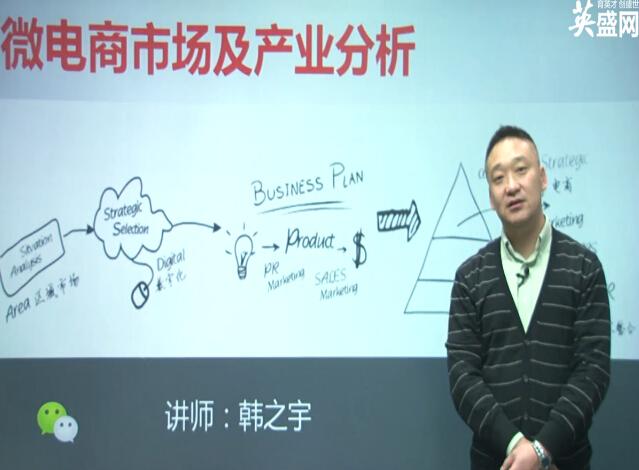 《解密微电商市场及未来趋势》课程学习笔记